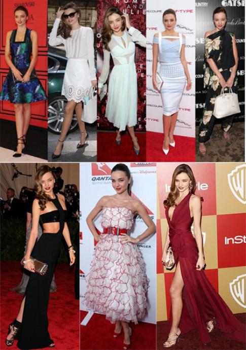 Những ngôi sao mặc đẹp nhất thế giới 2013