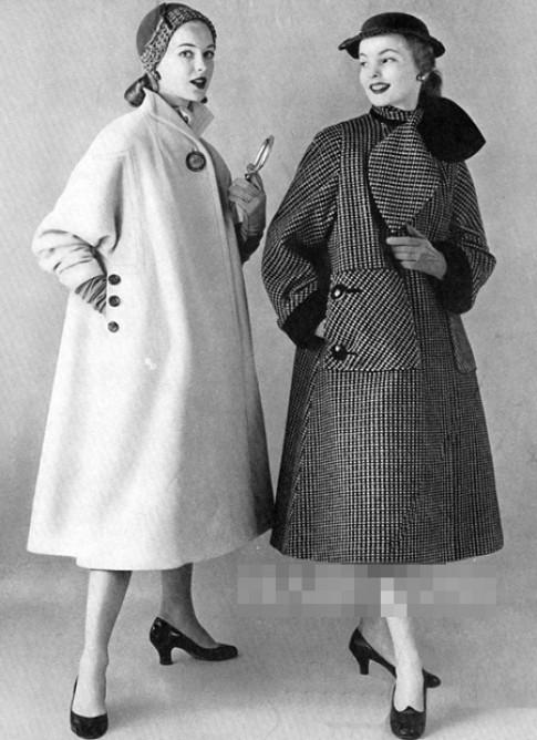 Những thiết kế áo khoác đẹp của thập niên 20-60