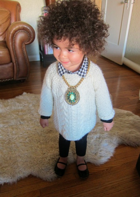 Phong cách thời trang đáng yêu của Alaia Rose