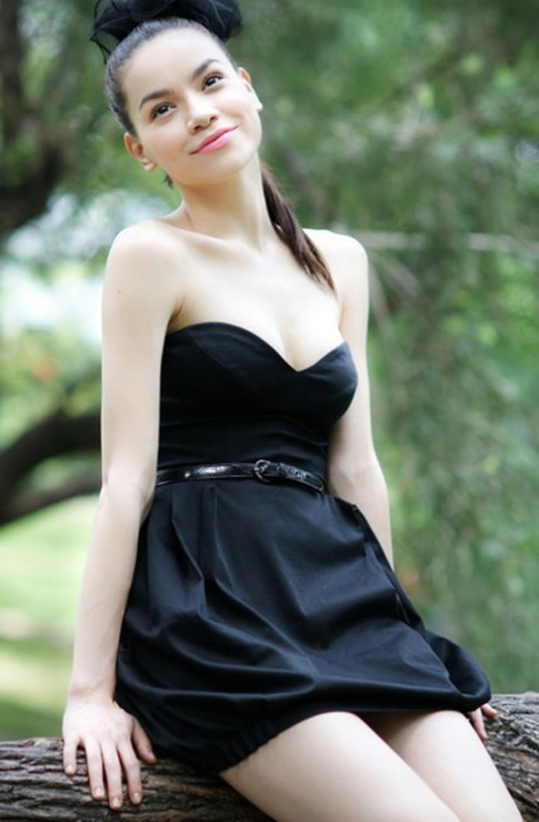 Phong cach thoi trang dinh cao cua Ho Ngoc Ha