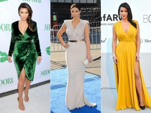 Phong cách thời trang gợi cảm của Kim Kardashian
