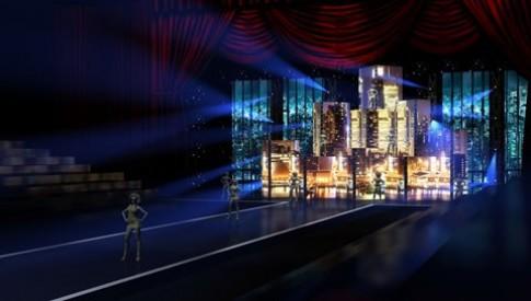 Sân khấu 'Đêm hội chân dài 7' đầu tư tiền tỷ
