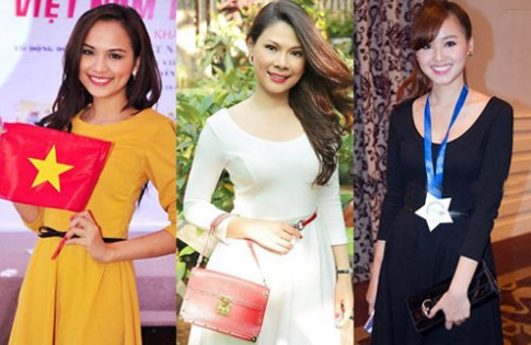 Sao Việt 'diện chung' váy