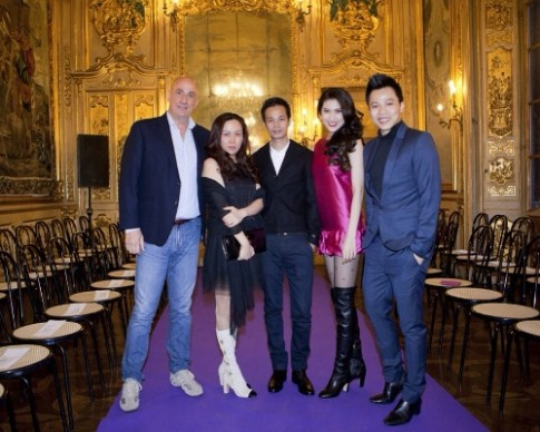 Sao Viet du show cua Hoang Hai o Italy
