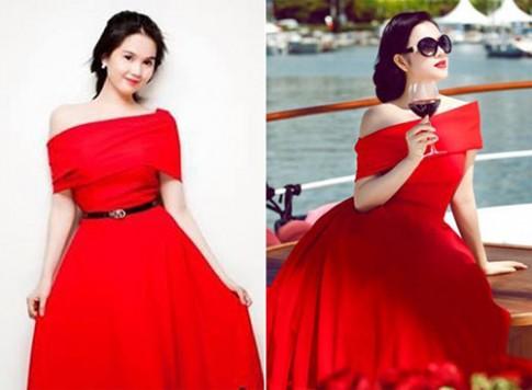 Sao Việt ghi điểm khi 'mặc chung đồ'