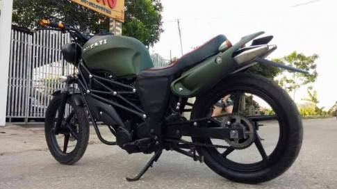 Su FX125 bi bien hinh thanh moto Ducati phong cach nha binh