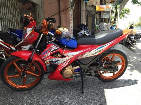Suzuki FX do dan ao Raider 150cc leng keng