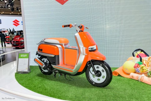 Suzuki Hustler Scoot mẫu xe tay ga 50 phân khối độc đáo