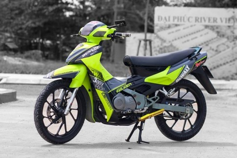 """Suzuki """"Xì po"""" Xanh dạ quang cuốn hút"""
