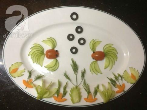 Thêm 4 cách cắt tỉa rau củ đơn giản mà bắt mắt