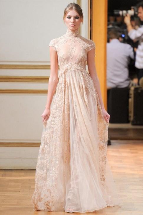 Thiết kế lãng mạn của Zuhair Murad tại tuần thời trang Paris