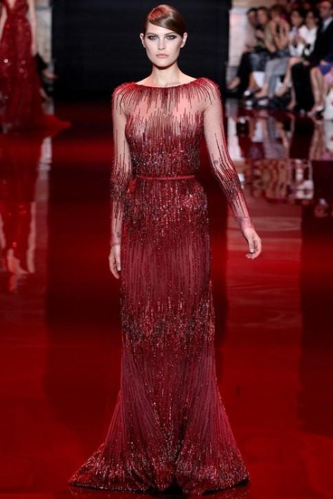 Thiết kế lộng lẫy của Elie Saab tại tuần thời trang Paris