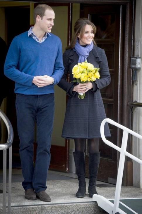 Thời trang bầu của Kate Middleton