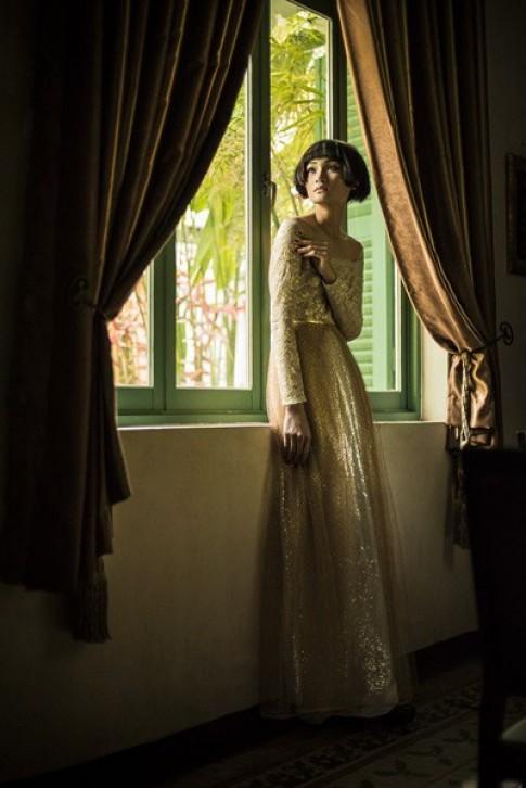 Thùy Trang trầm mặc, bí ẩn