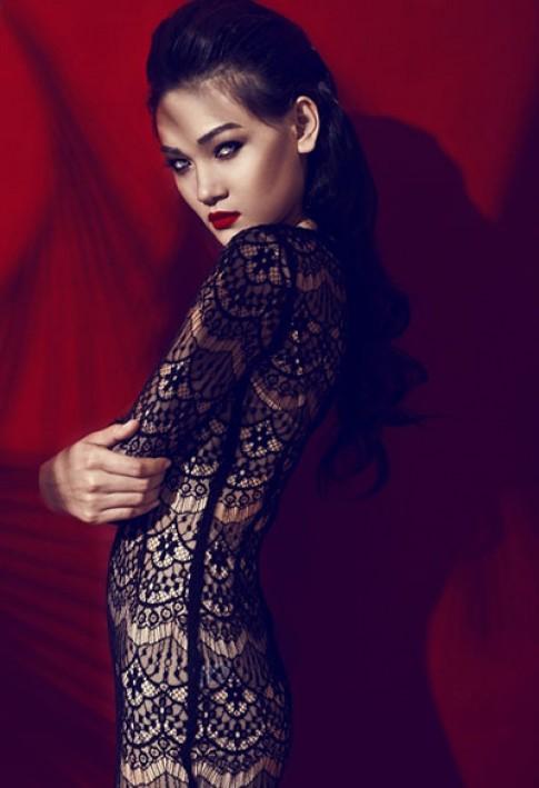 Thùy Trang tranh tài tại Asia's Next Top Model