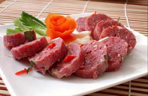 Tiết canh, 1 trong 6 thực phẩm gây nguy hiểm cho sức khỏe
