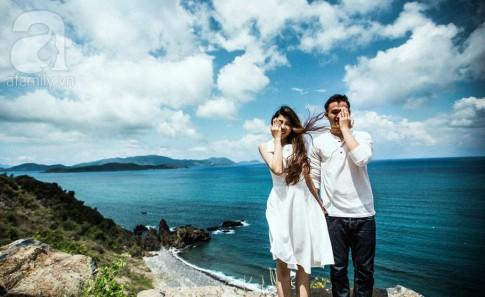 Tình yêu 5 năm tuyệt đẹp và bộ ảnh cưới sang chảnh của cặp đôi Việt Kiều