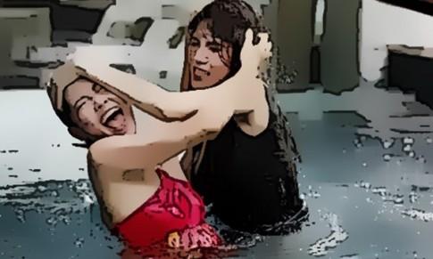 Trận đánh ghen tơi tả của hai người đàn bà
