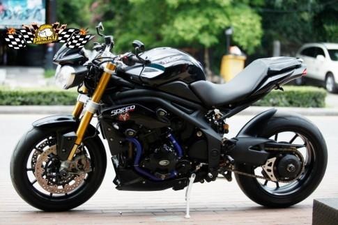 Triumph Speed Triple độ phiên bản sang chảnh