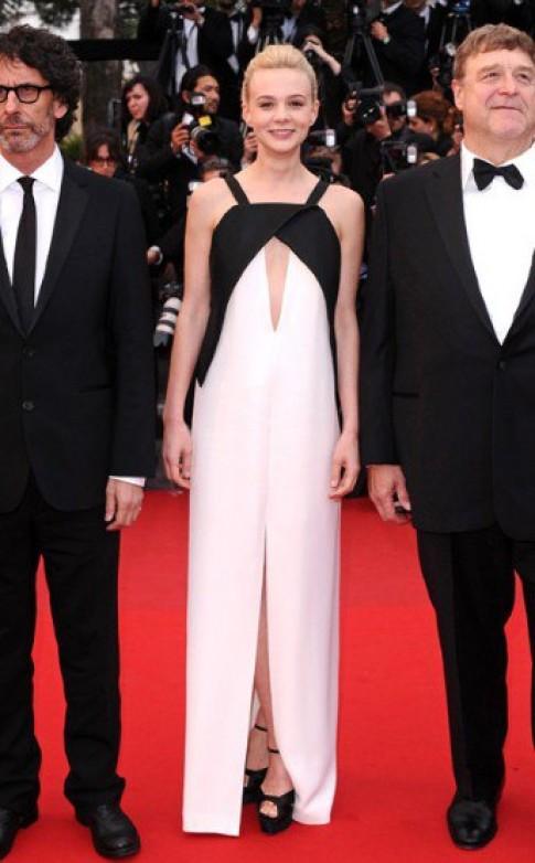 Váy phối trắng đen - xu hướng nổi bật tại Cannes 2013
