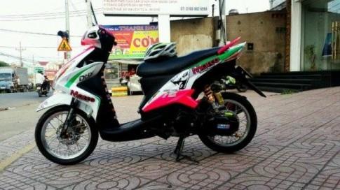 Vẻ đẹp của Yamaha luvias 125cc thời nay