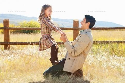 Với con, bố là người yêu tuyệt vời nhất...