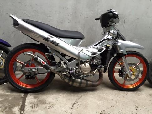 Yamaha 125ZR lên đồ chơi hàng hiệu