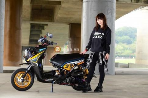 Yamaha BW'S độ khủng của nữ biker cá tính