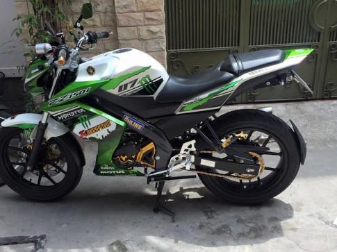 Yamaha FZ150i độ nhẹ dàn chân nhưng cực chuẩn