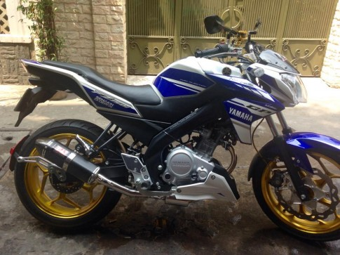 Yamaha FZ150i do noi bat tai Sai Gon