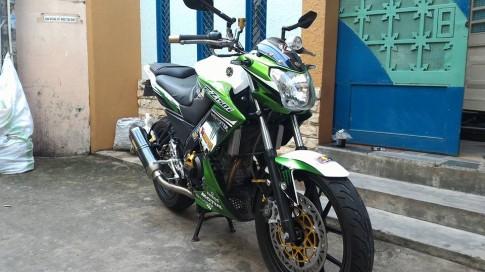 Yamaha FZ150i độ phong cách Monster của dân chơi Việt