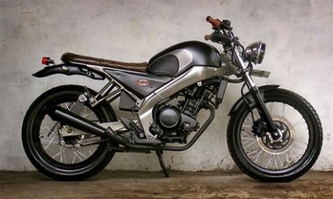 Yamaha FZ150i độ phong cách Tracker cổ điển