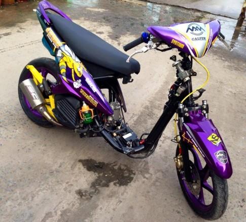 Yamaha Luvias do Drag trai 7x