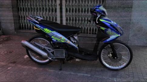 Yamaha luvias Drag phiên bản độ cực ngầu