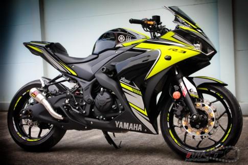 Yamaha R3 độ đậm chất thể thao với phiên bản Boushi