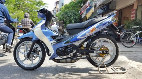 Yamaha Z125 phien ban bien xanh do phong cach ca tinh