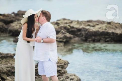 """Yêu 1 năm, gặp 1 tháng và bộ ảnh cưới """"chịu chi"""" 20.000 đô ở Maldives"""