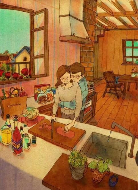 Yêu là cùng nhau cố gắng và vì nhau thay đổi để có thể bên cạnh nhau dài lâu...
