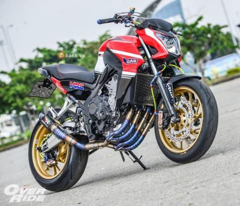 Bộ ảnh Honda CB650F độ cực chất của người Thái