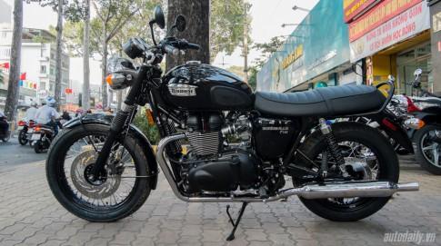 Can canh Triumph Bonneville T100 2016 dau tien tai Viet Nam