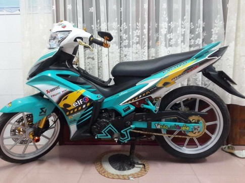 Yamaha exciter 135 độ phiên bản nitron