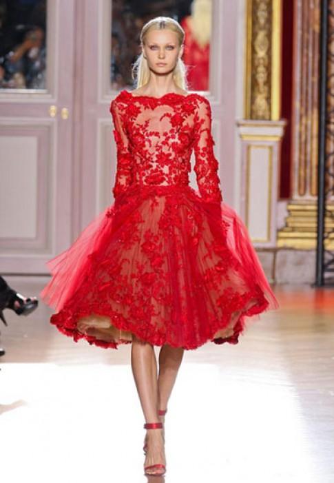 10 bộ váy dạ hội mùa thu ấn tượng nhất 2012