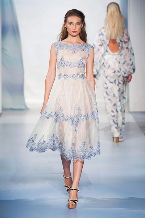 10 bộ váy đẹp nhất của tuần thời trang Milan 2014