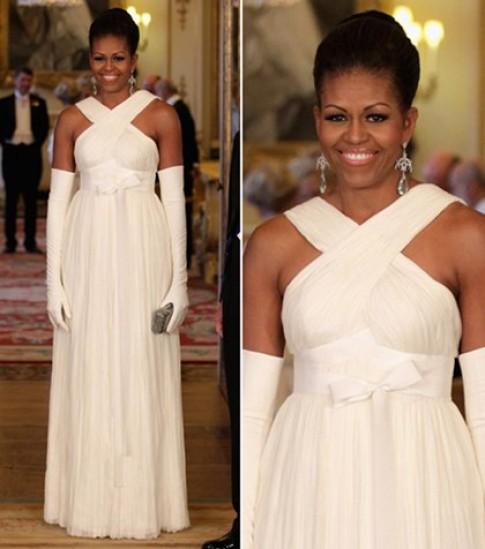 10 chiếc váy đẹp nhất của Đệ nhất phu nhân Mỹ