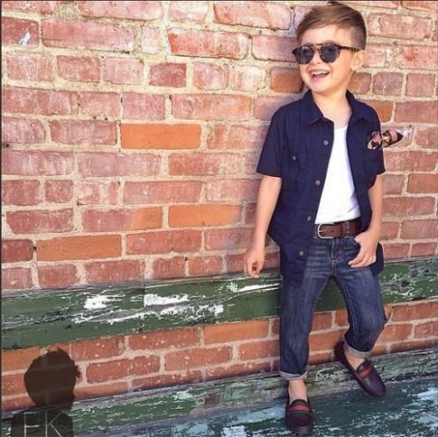 10 tín đồ thời trang nhí mặc đẹp ngày đầu hè