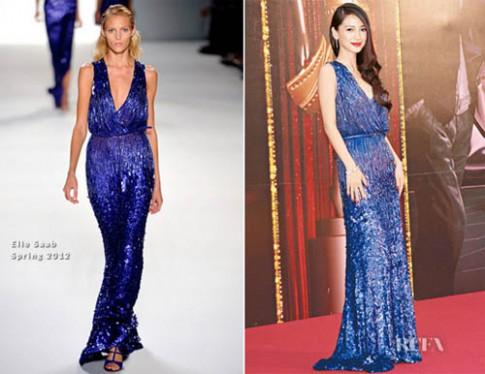 13 bộ váy hiệu xa xỉ của Angelababy