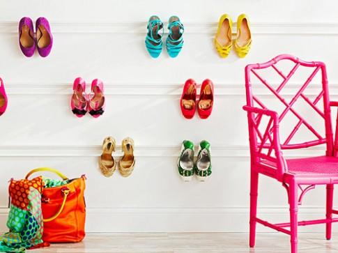 18 ý tưởng sáng tạo cho nơi cất giày