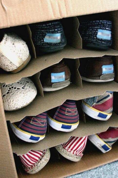 18 ý tưởng sáng tạo cho nơi cất giày (tiếp)