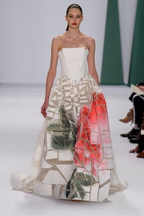24 bộ váy đẹp nhất Tuần Thời trang Xuân Hè 2015