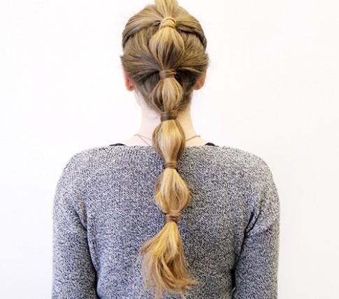 3 kiểu tóc đuôi ngựa đi làm hay đi chơi đều đẹp